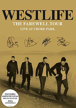 Westlife - The Farewell Tour Live At Croke Park (DVD) DVD