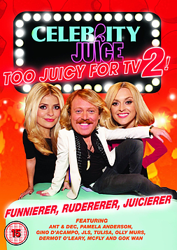 Celebrity Juice - Too Juicy For TV 2! (DVD) (C-15) DVD