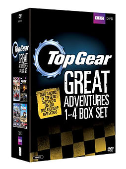 Top Gear: The Great Adventures 1-4 Box Set (DVD) DVD