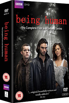 Being Human Series 1 & 2 Box Set (DVD) (C-15) DVD