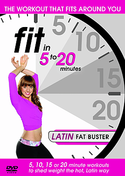 Fit In 5 To 20 Minutes: Latin Fat Buster (DVD) DVD