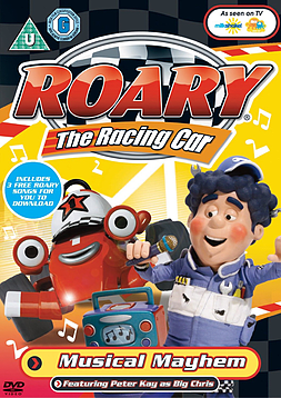 Roary The Racing Car: Musical Mayhem (DVD) (C-U) DVD