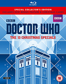 Doctor Who - The 10 Christmas Specials (Limited Edition) (Blu-ray) (C-12) Blu-ray