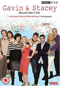 Gavin & Stacey Series 1 & 2 Box Set (DVD) (C-15) DVD