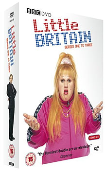 Little Britain Series 1-3 Box Set (DVD) (C-15) DVD
