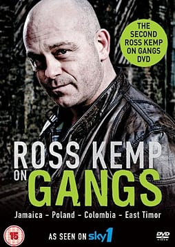 Ross Kemp On Gangs: Jamaica Colombia East Timor Poland (DVD) (C-15) DVD