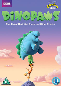 Dinopaws - The Thing That Was Round And Other Stories (DVD) (C-U) DVD