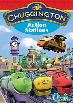 Chuggington: Action Stations (DVD) (C-U) DVD