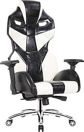 EarthCroc | Luxury Genuine Oil-Waxed Leather Executive Office Racing Gaming Chair Y-3001-Alien Multi Format and Universal