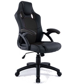 TANK Swivel PU Leather Mesh Office Racing Gaming Reclining Computer Desk Chair Multi Format and Universal