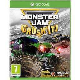 Monster Jam - Crush It XBOX ONE Cover Art