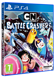 Cartoon Network: Battle Crashers PS4 Cover Art