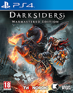 Darksiders Warmastered Edition PS4 Cover Art