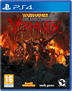 Warhammer: End Times - Vermintide PS4 Cover Art