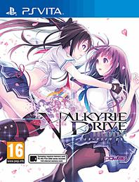 Valkyrie Drive Bhikkhuni PS Vita Cover Art