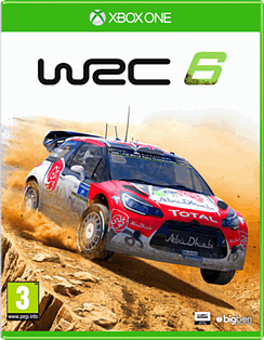 WRC 6 XBOX ONE Cover Art