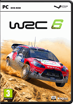 WRC 6 PC Cover Art