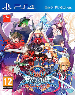 BlazBlue Central Fiction PS4 Cover Art