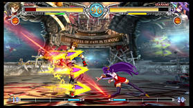 BlazBlue Central Fiction screen shot 1