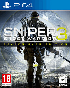 Sniper Ghost Warrior 3 Season Pass Edition PS4 Cover Art