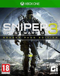 Sniper Ghost Warrior 3 Season Pass Edition XBOX ONE Cover Art