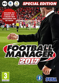 Football Manager 2017 PC Cover Art