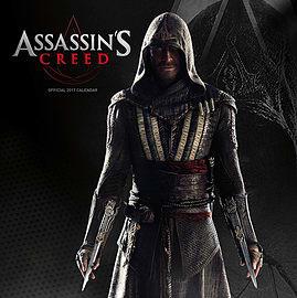 Assassin's Creed 2017 Movie Calendar Books