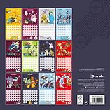 Pokemon 2017 Wall Calendar screen shot 2