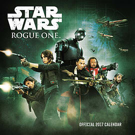 Star Wars Rogue 1 2017 Calendar Books