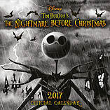 Nightmare Before Christmas 2017 Calendar screen shot 1