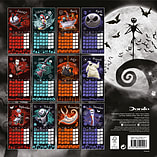 Nightmare Before Christmas 2017 Calendar screen shot 2