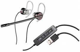 Plantronics Blackwire C435-M Mono/Stereo Headset USB (Over Ear with Ear Buds) Multi Format and Universal