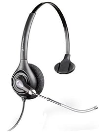 Plantronics SupraPlus HW251H Mono Headset (Voice Tube) - Hearing Aid Compatible Multi Format and Universal