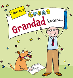 Ged Backland - You're a Great Grandad Because. . .: (Hardback) 9780091938253 Books