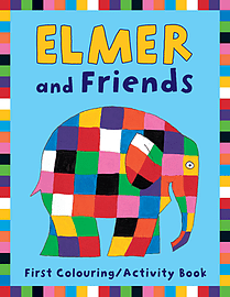 David McKee - Elmer and Friends First Colouring Activity Book: () 9781842705360 Books