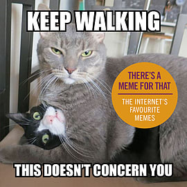 - Keep Walking, This Doesn't Concern You: The Internet's Favourite Memes () 9781785033919 Books
