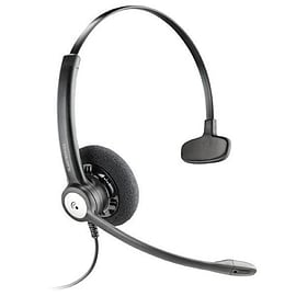 Plantronics Entera HW111N/A Mono Headset (Noise Cancelling) Multi Format and Universal