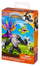 Mega Bloks Skylanders Giants Hero Pack Terrafin In Spiked Knuckles Blocks and Bricks