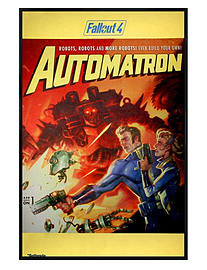 Fallout Gloss Black Framed 4 Automatron Maxi Poster 61x91.5cm Posters