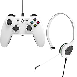 PowerA Wired Controller and Chat Headset Bundle (Xbox One) XBOX ONE