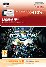 Metroid Prime: Federation Force 3DS Cover Art