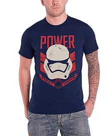 Star Wars T Shirt Force Awakens Stormtrooper First Order Official Mens NewSize: L LARGE