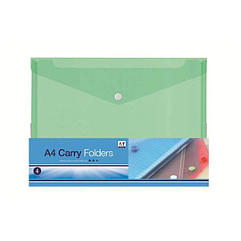 Anker A4 Carry Folders / Plastic Document Holders - (CFR/3059) Multi Format and Universal
