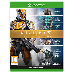 Destiny - The Collection XBOX ONE Cover Art