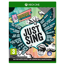 Just Sing XBOX ONE Cover Art