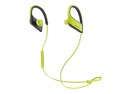Panasonic Bluetooth Sports, Mic, yellow +control, 9mm, IPX4, 22g, Pouch, 6H battery. In-ear, wirele Multi Format and Universal