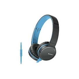 Sony Over-ear Headphones 1.2m Cord - Blue Multi Format and Universal