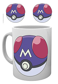 Pokemon Mug Masterball catch em all new Official White BoxedSize: Home - Tableware