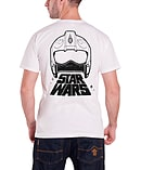 Star Wars T Shirt Force Awakens X Wing Fighter Official Mens New WhiteSize: M screen shot 1