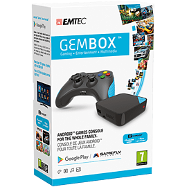 EMTEC GEM Box Starter Pack (Console Plus Gamepad) Consumer Tech